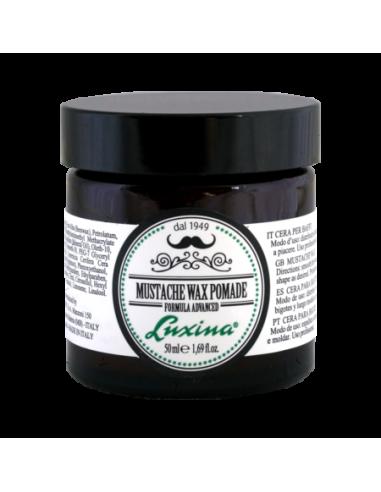 Luxina Moustache Wax Pomade 50 ml Cera per Baffi