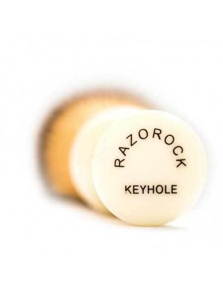 Razorock Pennello da Barba Keyhole Plissoft 24 mm