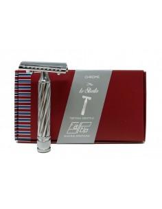 Fatip 42139 slant rasoio di sicurezza closed comb pettine chiuso.Lo storto