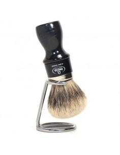 Omega pennello da barba 6782.y con supporto tasso super best badger