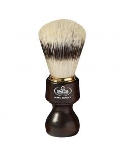 pennello da barba 11126 in pura setola manico legno lungo
