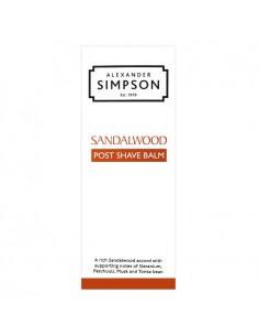 Simpson Balsamo Dopobarba Sandalwood 100 ml