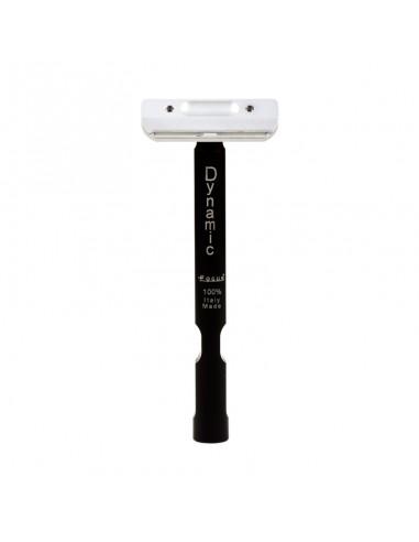 Focus Dynamic R48 -6 Evo Nero rasoio di sicurezza mezza lametta testina mobile