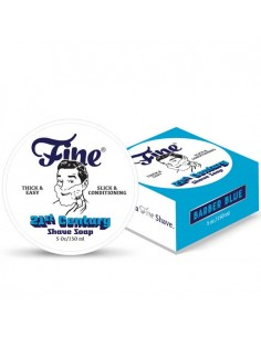 Fine Accoutrements Shaving Soap Barber Blue 150ml NEW FORMULA